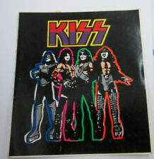 KISS STICKER COLLECTiBLE RARE VINTAGE 90'S METAL LIVE WINDOW DECAL