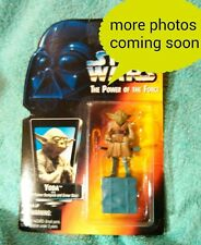 YODA w/back pack Power of the Force Star Wars figure kenner 1995