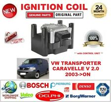 FOR VW TRANSPORTER CARAVELLE V 2.0 2003-ON IGNITION COIL 4PIN with CONTROL UNIT