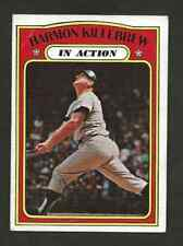 1972 TOPPS BASEBALL CARD # 52 HARMON KILLEBREW  Minnesota Twins  ex