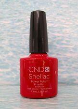CND Shellac Power Polish RUBY RITZ Perfect Pair UV/LED Gel .25 oz NEW Limited Ed