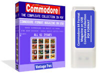 Commodore Format Magazine Complete Collection All Issues in PDF Amiga On 16 USB