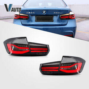 LED Tail Lights For 2012-2015 BMW 3 Series F30 Left+Right Rear Lights Assembly
