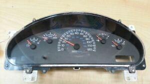 Speedometer Cluster MPH Fits 00 DODGE 1500 VAN 254