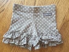 New Matilda Jane Size 12 Months Wonderful Parade Chocolate Malt Shorties Shorts