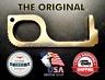 Brass Door Opener - The Original Brass (No Touch) Key Tool & Door Opener | EDC