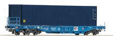 ROCO 76748 Vagone per container Känguru SNCB SCAMBIO degli assi a richiesta