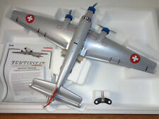 MARKLIN METALL Ju52 WINDUP METAL AIRPLANE, BOX AND LITERATURE AND BOX