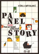 Panelstory aneb Jak se rodi sidliste 1979 Czech A1 Poster