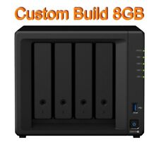 Synology DiskStation DS918+ 8GB Quad Core 4 Bays NAS - Diskless *Custom Build
