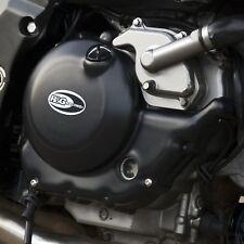 Suzuki SV650 Unfaired K3 2003 R&G Racing Engine Case Cover PAIR KEC0043BK Black