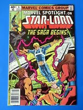 MARVEL SPOTLIGHT #6 COMIC BOOK Star-Lord Origin ~ 1980 BRONZE AGE ~ VG/FN