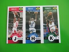 MICHAEL JORDAN / HARDAWAY /KEMP - '95/96 UD Coll. Choice card