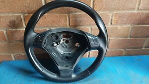 FIAT GRANDE PUNTO LEATHER STEERING WHEEL WITH RADIO BUTTONS (2006-2010)