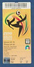 ORIG. ticket WM sudáfrica 2010 españa-alemania 1/2 Finale!!! Muy raras
