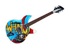Paul Weller's Rickenbacker 330 WHAAM! guitar POSTER PRINT A1 size
