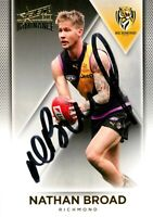 ✺Signed✺ 2019 RICHMOND TIGERS AFL Premiers Card NATHAN BROAD
