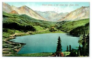 Trout Lake in the Silver San Juan, CO Postcard *6V(2)9