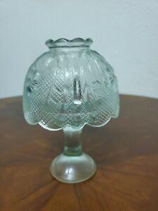 Vintage Light Green Blue Fairy Lamp