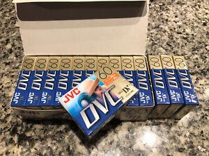 14 New Sealed JVC Mini DV DVC Tapes. No Reserve.