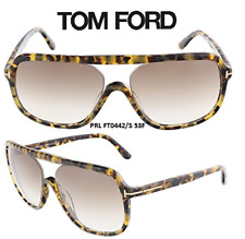 Tom Ford TF442 53F Robert Sunglasses Light Havana Size 59 100% New & Authentic