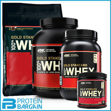 Optimum Nutrition Gold Standard 908g, 2.2kg 100% Whey Protein - Highest Quality