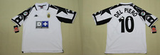 juventus jersey 1997 1998 away white del piero shirt playera alessandro XL