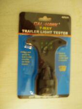 Cal Hawk 7 Way Trailer Light Tester Circuit Functions Brake signal LED Truck NEW