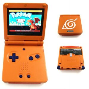 Naruto Totem Game Boy Advance GBA SP Console AGS 101 Backlit Brighter
