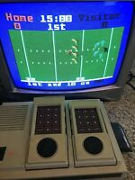 Mattel Intellivision II Console 5872 system Sports Bundle Package 8 Games