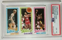 1980 Topps Basketball Larry Bird & Magic Johnson PSA 6 Just Graded! Read