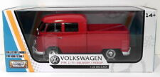 Motor Max 1/24 Scale 79343RD - Volkswagen Type 2 T1 Delivery Pick-Up - Red