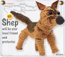 Kamibashi Shep German Shepherd Dog Original String Doll Gang Keychain Clip