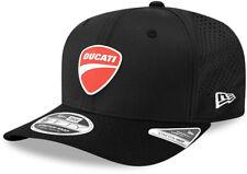 Ducati New Era 950 Perf Badge Stretch Snap Black Cap
