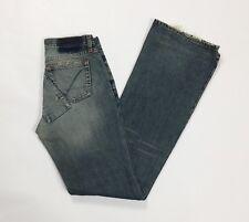 Guess jeans donna bootcut zampa usato denim loose retro W26 tg 40 svasati T3089