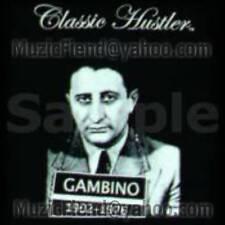 XL Classic Hustler Carlo Gambino Original John Family Gotti Gangster Rap Shirt