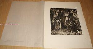 JAN GOSSAERT MABUSE - THE ADORATION OF THE KINGS GERMAN PHOTOGRAVURE 1900