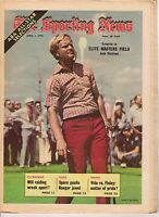 The Sporting News, 4/1/1972, Golf magazine, Jack Nicklaus ~ Elite Masters Field