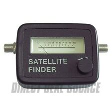 Satellite Finder Analog with SF-95 950-2150 MHz FTA Dish Signal Meter Sat Finder
