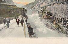 Postcard - Waterfall at Teutelsbracke.