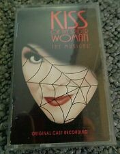 Kiss Of The Spider Woman Original Cast Recording Tape Cassette Album.