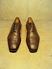 GRENSON FEATHERMASTER SMART HALF-BROGUES 10.5