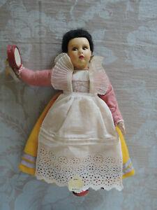 vintage Lenci type Italian doll, Napoli, Magis brand