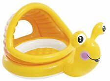 Intex - Lazy caracoles sombra Baby piscina inflable Niños Pequeños 53 litro