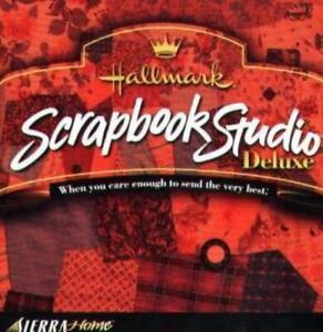 Hallmark Scrapbook Studio Deluxe PC CD create images pictures crafts templates
