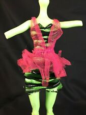 Monster High Doll Replacement VENUS McFLYTRAP Zombie Shake Pink Green Dress