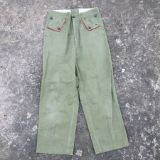 Vintage 40s 50s Bsa Boy Scouts American Khaki Army Chino Duck Pants Distressed