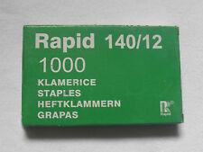 HEFTKLAMMERN FÜR RAPID -HANDTACKER-TROCKENBAUTACKER-12mm-1000stk