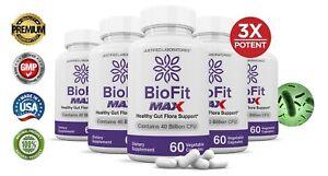 Biofit Fit Max 40 Billion CFU Weight Loss Probiotic Bio Fit Supplement 5 Pack