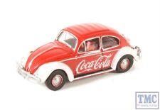 76VWB009CC Oxford Diecast OO Gauge Volkswagen Beetle Coca Cola